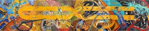 """Resilience"" (24' x 5') Michael Killen 2013"